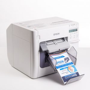 Badge printer