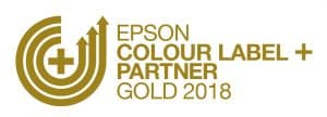 Epson Colour Label + Partner_Gold_2018_GoldOnWhite